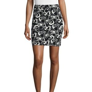 Rag & Bone x Liberty Floral Knit Mini Skirt